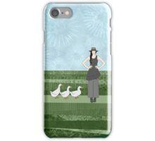 Pekin Duck Lady iPhone Case/Skin