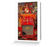 Firefighting Ford 2 Greeting Card