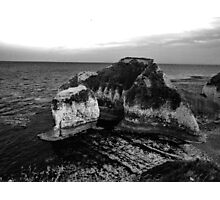 Rocky coast Photographic Print