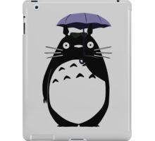 Totoro on a rainy day iPad Case/Skin