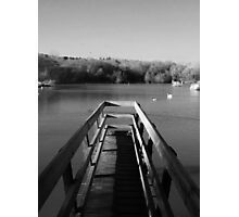 Wooden bridge Photographic Print