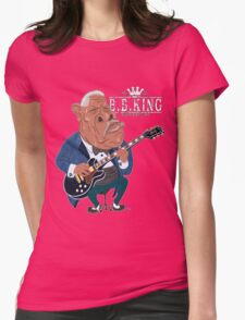 THE KING OF THE BLUES Womens Fitted T-Shirt