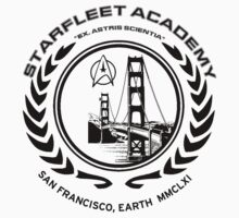 Star Trek Starfleet Academy t-shirt  Kids Clothes