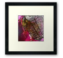 In the Time of the Trilobites Framed Print