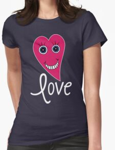 Cartoon Heart - LOVE T-Shirt