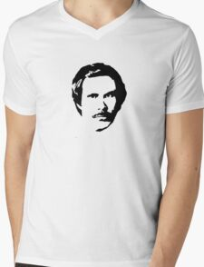 Anchorman Mens V-Neck T-Shirt