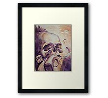 Trains by Ben Angotti Framed Print