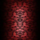 Regal Red Lace Galaxy Case by Ra12