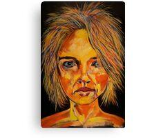 random face Canvas Print