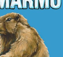 BIG LEBOWSKI- the Dude - Hey, Nice Marmot Sticker