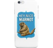 BIG LEBOWSKI- the Dude - Hey, Nice Marmot iPhone Case/Skin
