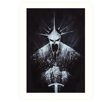 Witch-king of Angmar Art Print