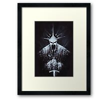 Witch-king of Angmar Framed Print