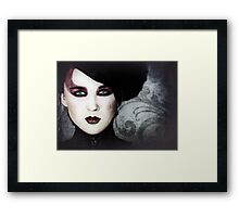 Cold December World Framed Print