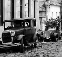 Vintage Cars in Uruguay by Steven Williams