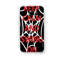 Keep Calm-Spidey Samsung Galaxy Case/Skin