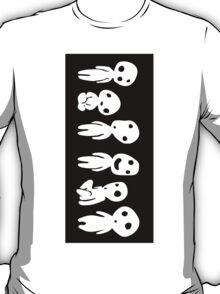 Kodama (Tree spirits) Sticker T-Shirt