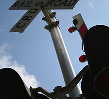 """""""Railroad Crossing Signal"""" by BlackDove1128"""