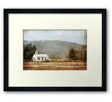Old Country Church Framed Print