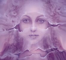 Veils in Violet Light by Christa Alexis