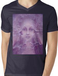 Veils in Violet Light Mens V-Neck T-Shirt
