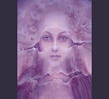 Veils in Violet Light Hoodie