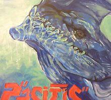 Otachi - Pacific Rim Poster by Reshma Zachariah