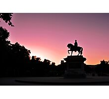 Pink Sky in Barcelona Photographic Print