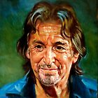 portrait of Al Pacino by Hidemi Tada