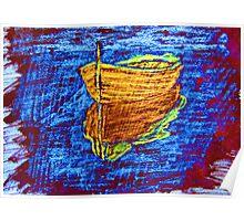 """Blue Daze"" by Carter L. Shepard Poster"
