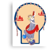 Tarot Two of Coins Canvas Print
