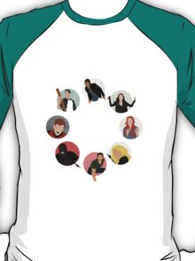 Teen Wolf Pack Graphic (Circles Only Version) T-Shirt