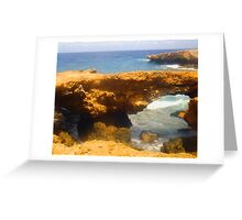 Aruba Baby Bridge Greeting Card