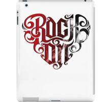 Rock on metallica - Shirt iPad Case/Skin