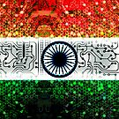 circuit board india (flag) by sebmcnulty