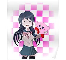 Maizono Sayaka and Kirby Poster