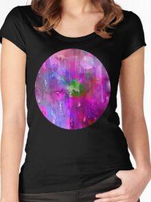 midnite Purple Women's Fitted Scoop T-Shirt