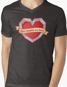 You complete my heart Mens V-Neck T-Shirt