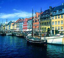 Nyhavn, Copenhagen by Christina Backus