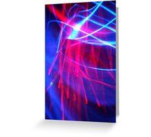 ©NLE The BlueRed Blaze IA Greeting Card