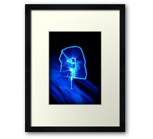 ©NLE On The Blue Blaze IA Framed Print