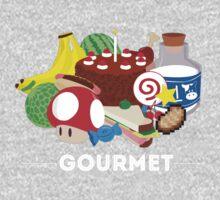 Gourmet - Video Game Food Tee One Piece - Short Sleeve