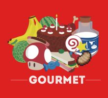 Gourmet - Video Game Food Tee One Piece - Long Sleeve