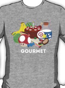 Gourmet - Video Game Food Tee T-Shirt
