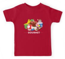 Gourmet - Video Game Food Tee Kids Tee
