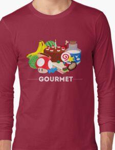 Gourmet - Video Game Food Tee Long Sleeve T-Shirt