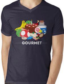Gourmet - Video Game Food Tee Mens V-Neck T-Shirt