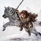 Rickon Stark post ADWD by JenSnow