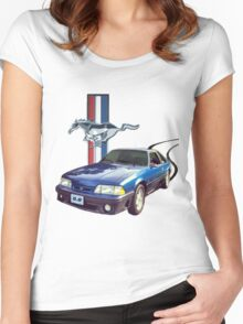 Mustang GT Women's Fitted Scoop T-Shirt