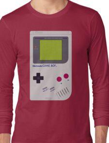 game boy hand held Long Sleeve T-Shirt